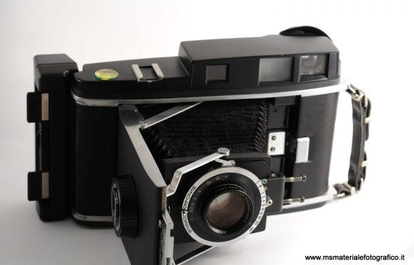 Kit Fotocamera Polaroid modificata da Byron+due obiettivi+due dorsi