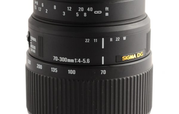 Obiettivo Sigma 70-300mm f/4-5,6 DG per Nikon