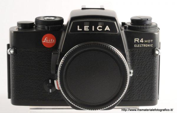 Fotocamera Leica R4 mot electronic Black (1980)