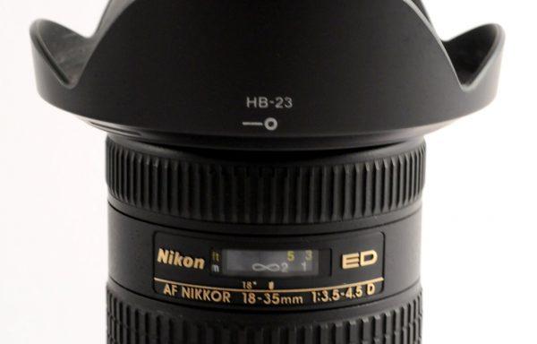 Obiettivo Nikkor AF-D 18-35mm f/3,5-4,5