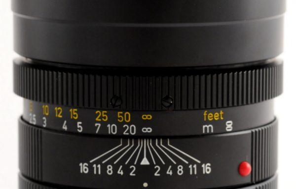 Obiettivo Leica R Summicron 90mm f/2