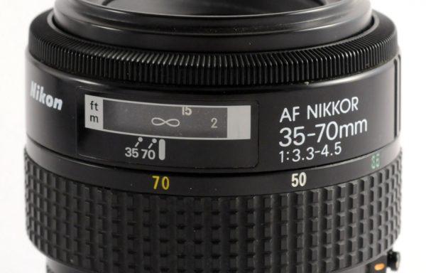 Obiettivo Nikon AF 35-70mm f/3,3-4,5