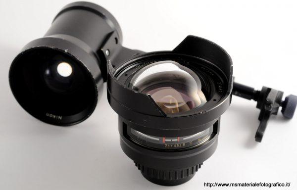 Obiettivo UW-Nikkor 15mm f/2,8+mirino