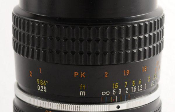 Obiettivo Micro-Nikkor 55mm f/2,8 AI-S