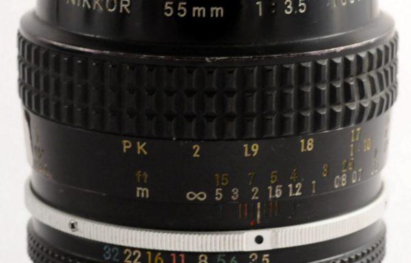 Obiettivo Nikkor 55mm f/3,5 AI