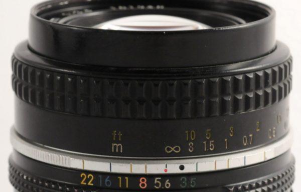 Obiettivo Nikkor 20mm f/3,5
