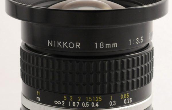 Obiettivo Nikkor 18mm f/3,5