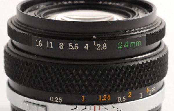 Obiettivo Olympus 24mm f/2,8