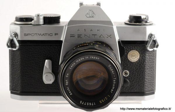 Kit Fotocamera Pentax Spotmatic F + Obiettivo Pentax Super-Takumar 55mm f/2