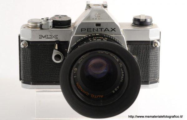 Kit Fotocamera Pentax MX + Obiettivo Chinon 50mm f/1,9