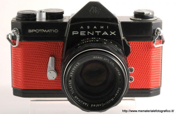 Kit Fotocamera Pentax Spotmatic SP + Obiettivo Pentax Takumar 50mm f/1,4