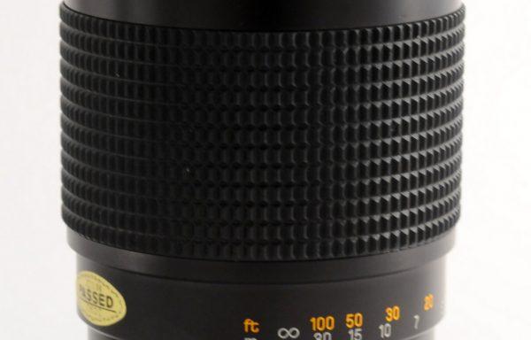 Obiettivo Chinon 200mm f/3,5 attacco Pentax K