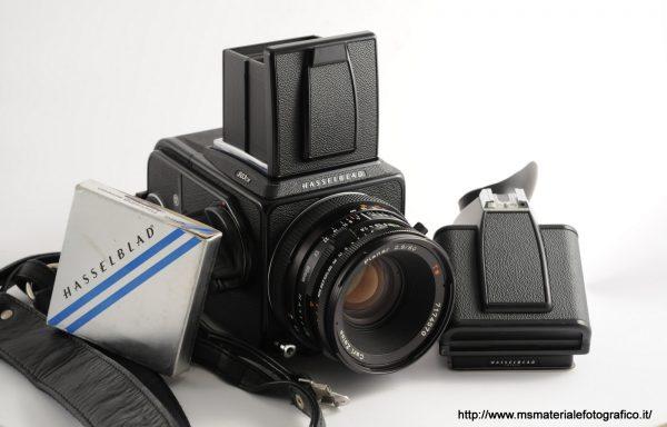Kit Fotocamera Hasselblad 503CW+Obiettivo Hasselblad Planar 80mm f/2,8+pentaprisma+vetrino messa a fuoco con stigmometro