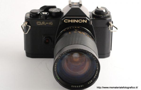 Kit Fotocamera Chinon + Obiettivo Cimko 28-80mm f/3,5-4,5