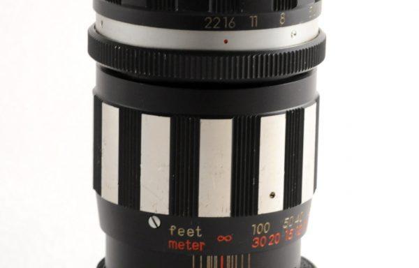 Obiettivo Spiratone 200mm f/4,5 M42