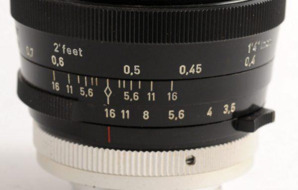 Obiettivo Ennalyt 35mm f/3,5 Exakta