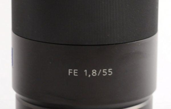 Obiettivo Carl Zeiss Sonnar 55mm f/1,8 E-Mount