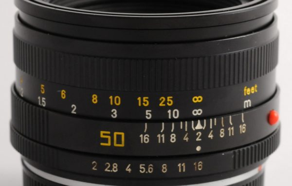 Obiettivo Leica R Summicron 50mm f/2