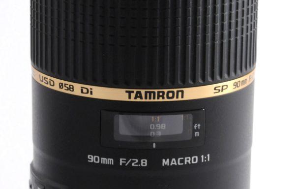 Obiettivo Tamron SP 90mm f/2,8 Di VC USD macro per Nikon