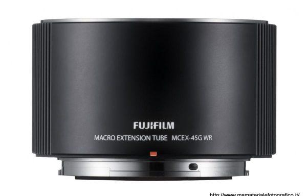 Fujifilm macro extension tube MCEX-45G WR per GFX