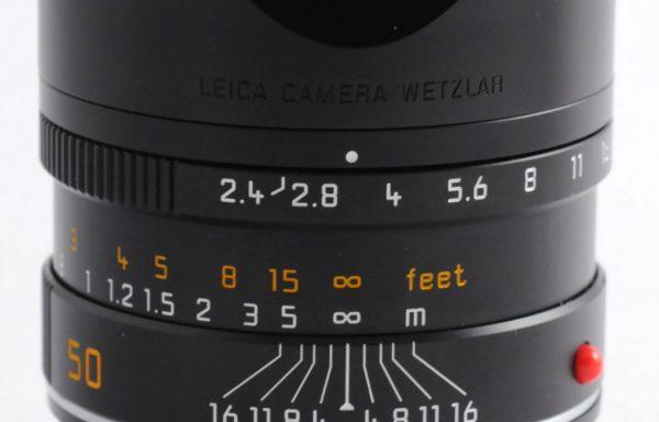 Obiettivo Leica M Summarit 50mm f/2,4