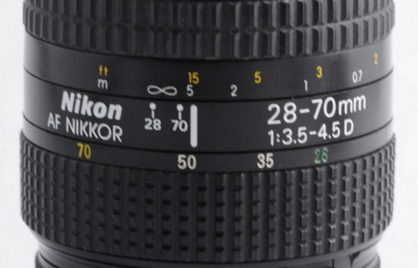Obiettivo Nikkor AF 28-70mm f/3,5-4,5 D