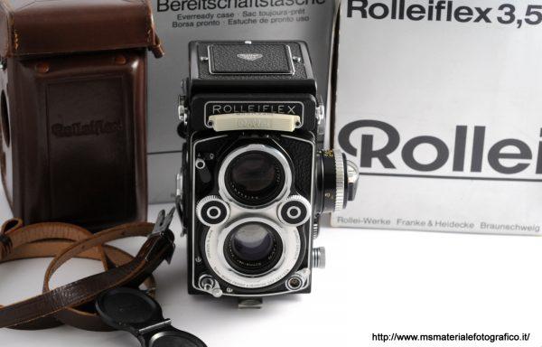 Fotocamera Rolleiflex 3,5F White face