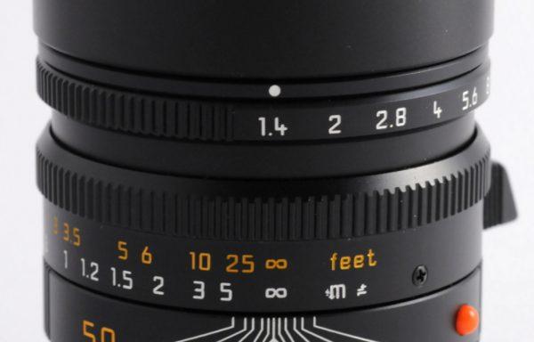 Obiettivo Leica M Summilux 50mm f/1,4 ASPH.