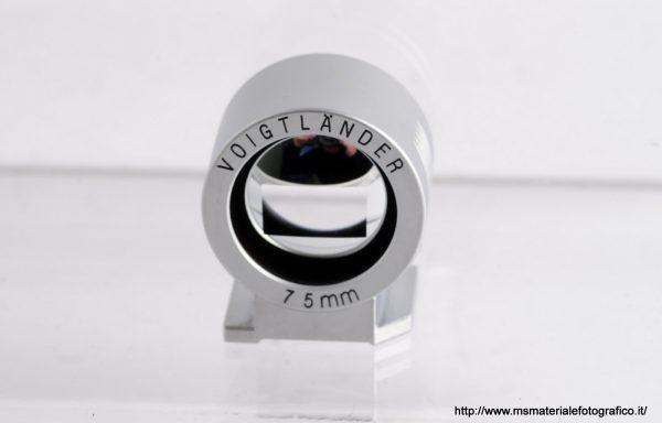 Mirino Voigtlander 75mm