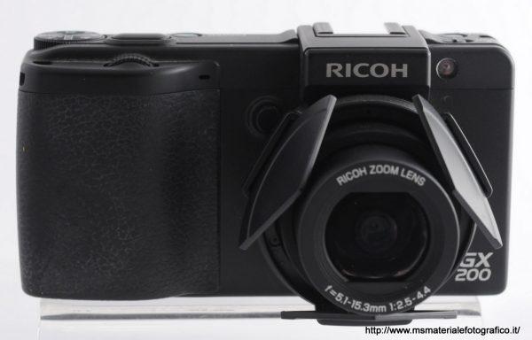 Fotocamera Ricoh GX200 + Mirino Ricoh VF-1