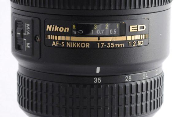 Obiettivo Nikkor AF-S 17-35mm f/2,8 D