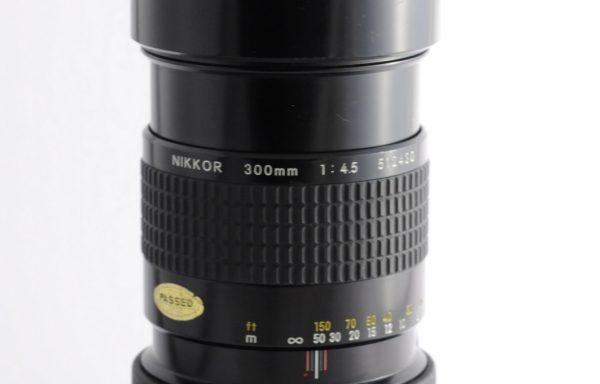 Obiettivo Nikkor AI 300mm f/4,5