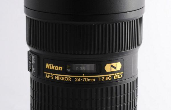 Obiettivo Nikkor AF-S 24-70mm f/2,8 G
