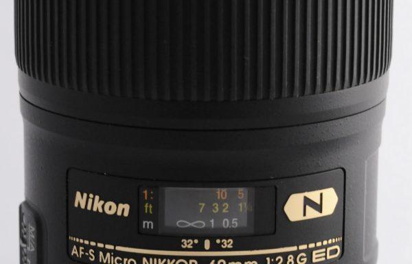 Obiettivo Nikkor AF-S 60mm f/2,8 G
