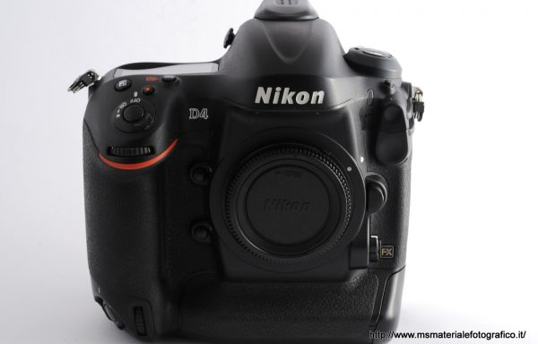 Fotocamera Nikon D4 (88000 scatti)