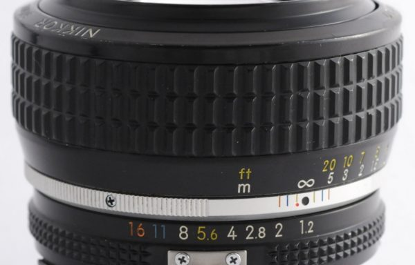 Obiettivo Nikkor AI-S 50mm f/1,2