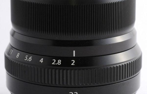 Obiettivo Fujinon XF 23mm f/2 R WR