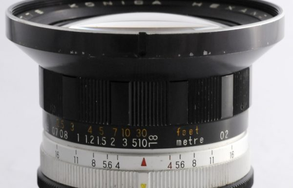 Obiettivo Konica Hexanon 21mm f/4