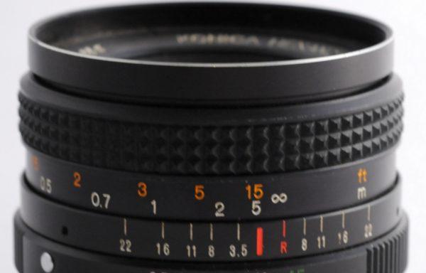 Obiettivo Konica Hexanon AR 28mm f/3,5