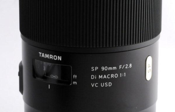 Obiettivo Tamron SP 90mm f/2,8 Di Macro VC USD per Nikon