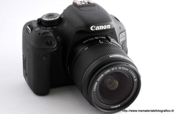 Kit Fotocamera Canon 600D + Obiettivo Canon 18-55mm f/3,5-5,6