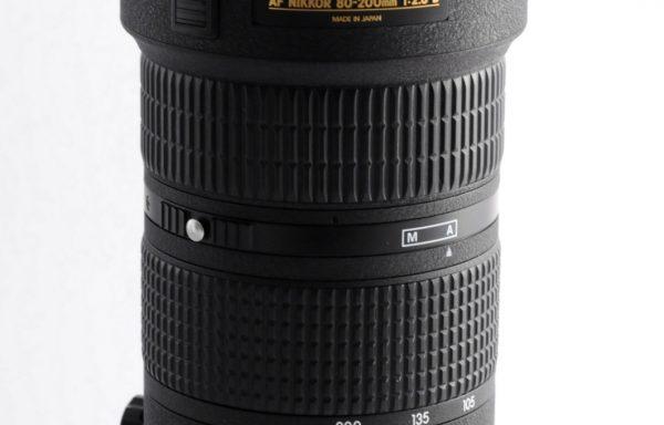 Obiettivo Nikkor AF 80-200mm f/2,8 D