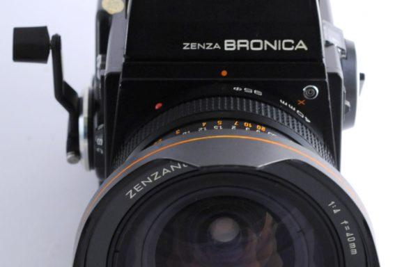 Kit Zenza Bronica SQ-A + Obbiettivo Zenza Bronica 40mm f/4 + Pentaprisma + Magazzino