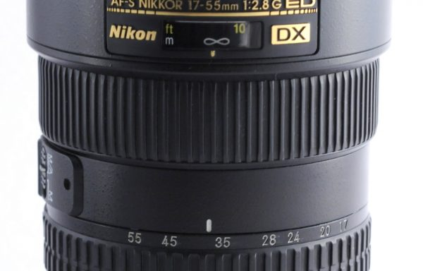 Obiettivo Nikkor AF-S 17-55mm f/2,8 G ED