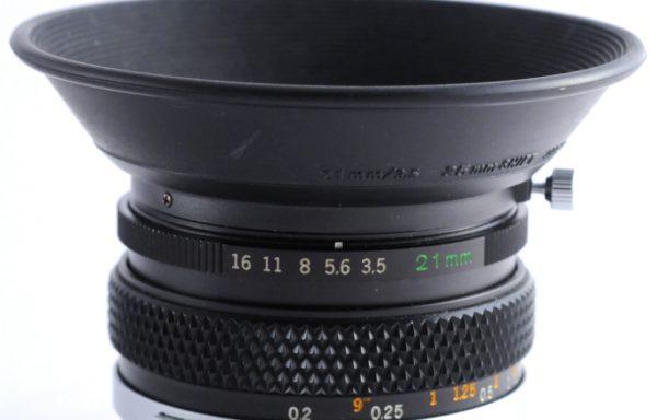 Obiettivo Olympus 21mm f/3,5