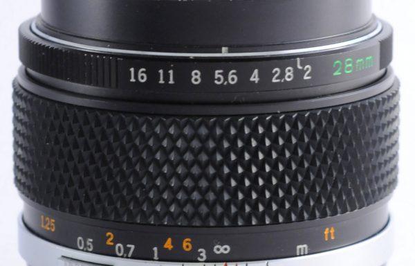 Obiettivo Olympus 28mm f/2