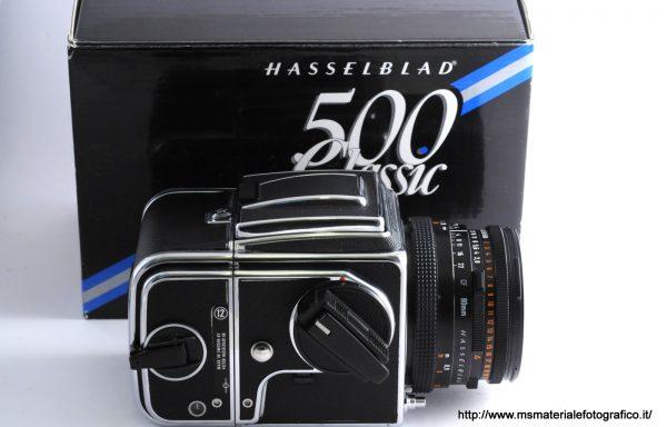 Kit Hasselblad 500 C/M Classic Anniversary + Magazzino A12 + Obiettivo Hasselblad Planar 80mm f/2,8