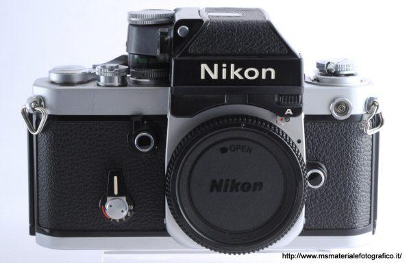 Fotocamera Nikon F2 A (esposimetro non funzionante)