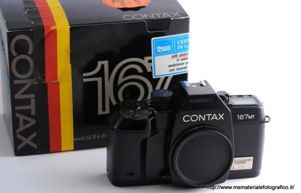 Fotocamera Contax 167MT Anniversary 60 years