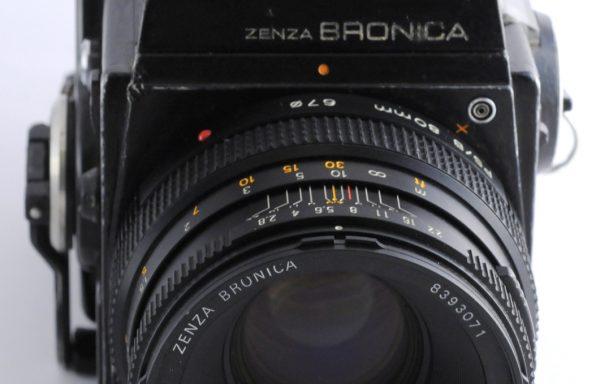 Kit Fotocamera Zenza Bronica SQ-A + Obiettivo Zenzanon-PS 80mm f/2,8 + Magazzino